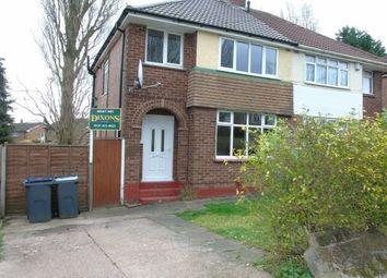 Thumbnail 3 bed property to rent in Edenhurst Road, Longbridge