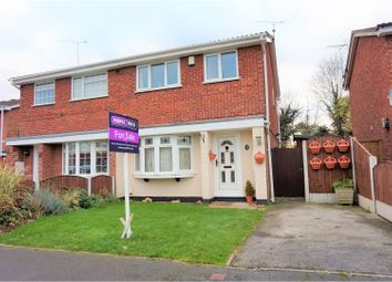 Thumbnail 3 bed semi-detached house for sale in Goodwood Drive, Derby