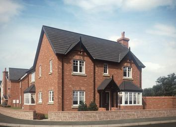 Thumbnail 4 bedroom detached house for sale in Chester Road, Hinstock, Shropshire
