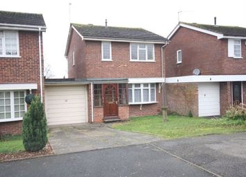 Thumbnail 3 bed link-detached house to rent in Hollyberry Close, Winyates Green, Redditch