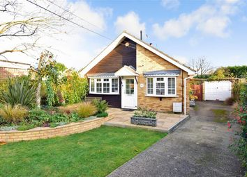 Thumbnail 3 bed bungalow for sale in Hever Avenue, West Kingsdown, Sevenoaks, Kent