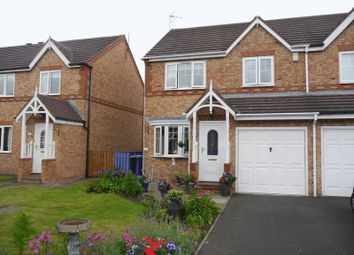 Thumbnail 3 bed semi-detached house for sale in Millbrook Road, Cramlington