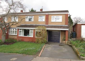 Thumbnail 4 bed semi-detached house for sale in Sunnybank Road, Off Sutton Road, Shrewsbury