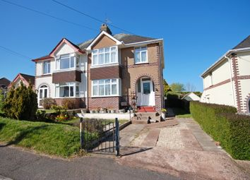 Thumbnail 3 bed semi-detached house for sale in Malvern Road, Sidmouth