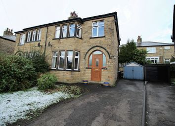 Thumbnail 3 bed semi-detached house for sale in Savile Drive, Halifax