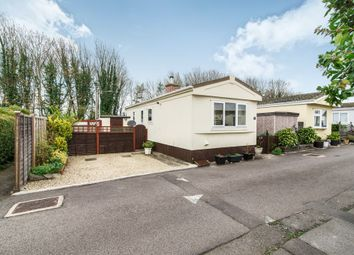 Thumbnail 2 bed mobile/park home for sale in Harewood Park, Andover Down, Andover