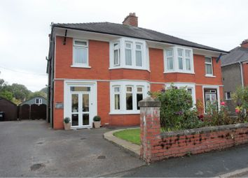 Thumbnail 4 bed semi-detached house for sale in St. Davids Crescent, Brecon