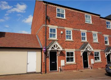 Thumbnail 4 bedroom town house for sale in Nine Riggs Square, Leicester