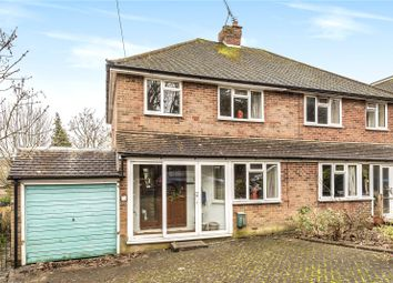 Thumbnail 3 bed semi-detached house for sale in Burntwood Close, Caterham, Surrey