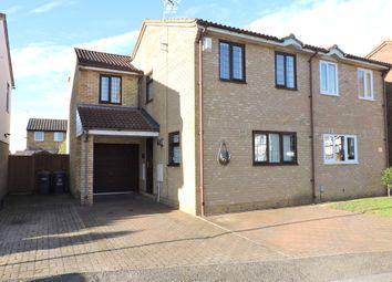 Thumbnail 3 bedroom semi-detached house for sale in Corbridge Drive, Luton
