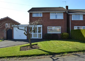 Thumbnail 3 bedroom detached house for sale in Tennyson Avenue, Midway, Swadlincote
