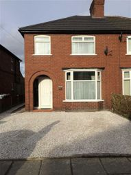 Thumbnail 3 bed semi-detached house to rent in Salisbury Avenue, Crewe, Cheshire