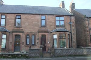 Thumbnail 3 bedroom semi-detached house for sale in Glebe Street, Dumfries