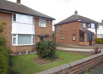Thumbnail 3 bed semi-detached house for sale in Ferndale Road, Leicester, Leicestershire