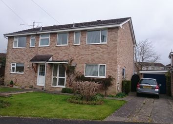 Thumbnail 3 bed semi-detached house to rent in Duncliffe Close, Stalbridge, Sturminster Newton