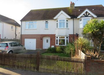 Thumbnail 4 bedroom semi-detached house for sale in St. Andrews Road, Worthing