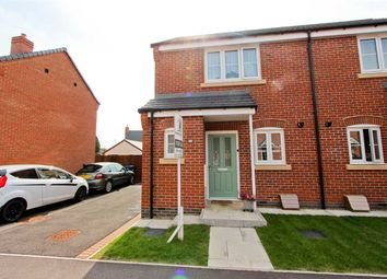 Thumbnail 2 bed semi-detached house for sale in Border Close, Glenfield, Leicester