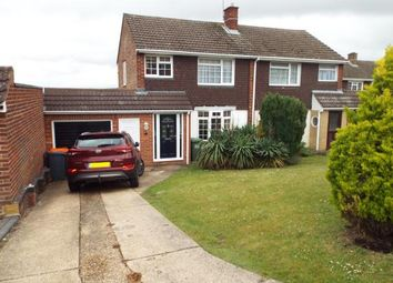 Thumbnail 3 bed semi-detached house for sale in Canesworde Road, Dunstable, Bedfordshire, England