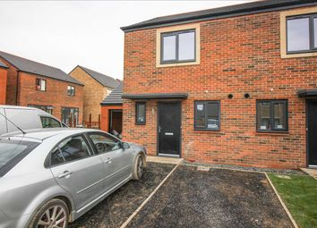 Thumbnail 2 bed semi-detached house to rent in Hundleby Court, St. Nicholas Manor, Cramlington