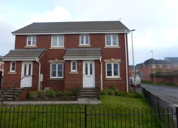 Thumbnail 3 bed end terrace house for sale in Ffordd Y Dolau, Llanharan, Pontyclun
