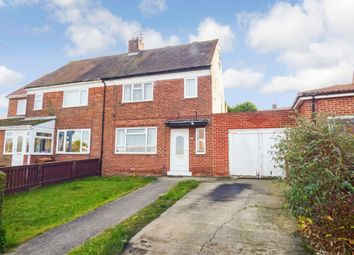 Thumbnail 3 bed semi-detached house for sale in Hawthorn Avenue, New Silksworth, Sunderland