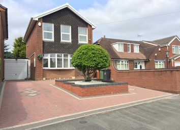 Thumbnail 3 bed detached house for sale in Mill Lane, Willenhall, West Midlands
