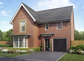 "Thumbnail 4 bed detached house for sale in ""Halstead"" at Kepple Lane, Garstang, Preston"