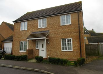 Thumbnail 3 bed detached house for sale in Sharman Drive, Colyers Gardens, Corby