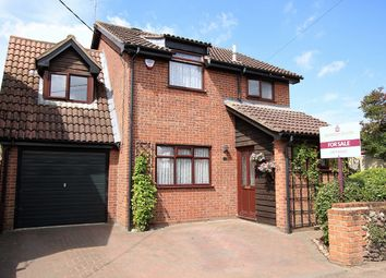 Thumbnail 4 bed detached house for sale in Norwich Road, Barham, Ipswich, Suffolk