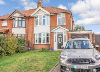 Thumbnail 3 bed semi-detached house for sale in Woodbridge Road East, Ipswich