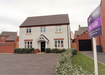 Thumbnail 4 bed detached house for sale in Piper Avenue, Castle Donington