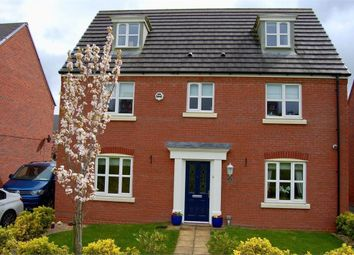 Thumbnail 5 bed detached house for sale in Wellman Avenue, Brymbo, Wrexham