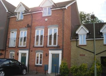 Thumbnail 3 bed terraced house to rent in Hurst Road, Kennington, Ashford, Kent