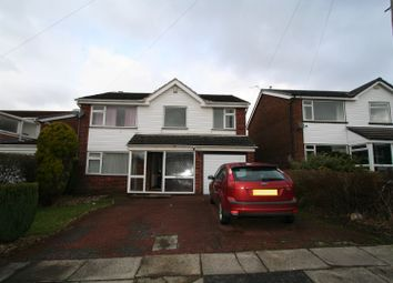 Thumbnail 4 bed detached house to rent in Hawthorn Close, Bamford, Rochdale