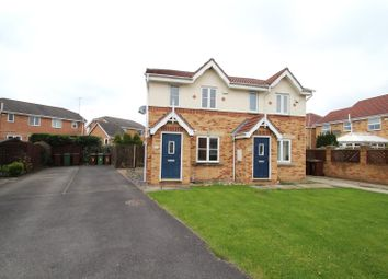 Thumbnail 2 bed semi-detached house to rent in Providence Green, Pontefract, West Yorkshire