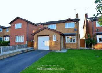 Thumbnail 3 bed detached house for sale in Cedar Close, Buckley