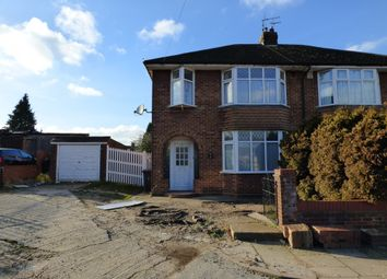 Thumbnail 3 bed semi-detached house for sale in Wyvern Close, Luton, Bedfordshire