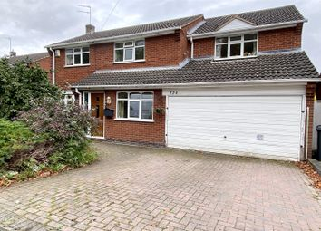 Thumbnail 5 bed detached house for sale in Rugby Road, Burbage, Hinckley