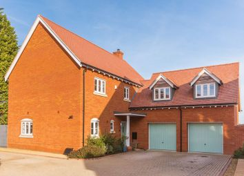 Thumbnail 4 bed detached house for sale in Dandridge Close, East Hanney, Wantage