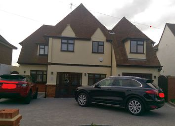 Thumbnail 4 bed detached house for sale in Lee Grove Road, Chigwell Essex