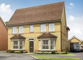 "Thumbnail 4 bedroom detached house for sale in ""Alnwick"" at Station Road, Longstanton, Cambridge"