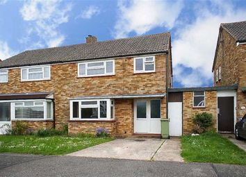 Thumbnail 3 bed semi-detached house for sale in Lovatt Drive, Bletchley, Milton Keynes