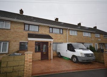 Thumbnail 3 bed terraced house for sale in Crediton Road, Llanrumney, Cardiff.