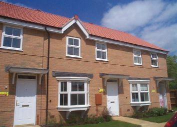 Thumbnail 3 bed terraced house to rent in Siskin Road, Uppingham, Oakham