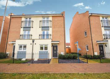 Thumbnail 4 bed semi-detached house for sale in Clenshaw Path, Basildon, Essex