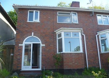 Thumbnail 3 bed semi-detached house to rent in Putney Road, Handsworth, Birmingham