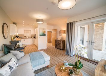 Thumbnail 2 bed flat for sale in Edmunds Way, Hauxton, Cambridge