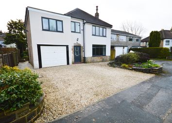 Thumbnail 4 bed detached house for sale in Stonegate Road, Meanwood, Leeds, West Yorkshire.