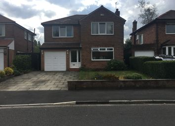 Thumbnail 4 bed detached house to rent in Cleveland Road, Heaton Moor, Stockport