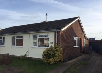 Thumbnail 3 bed semi-detached bungalow for sale in Hornbeam Road, Stowupland, Stowmarket
